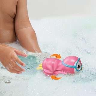 Munchkin Wind Up Swimming Penguin Bath Toy