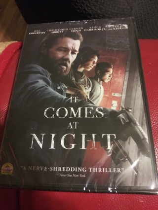 IT COMES AT NIGHT DVD FACTORY SEALED