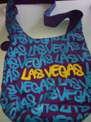 Las Vegas Graffiti Tote Bag By Robin Ruth