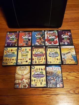 13 PC Games Lot