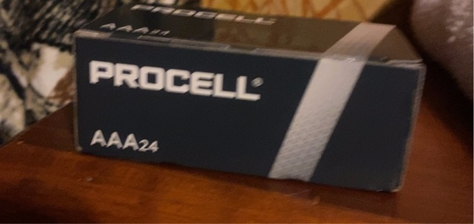 Procell Duracell AAA Batteries 24 Pack