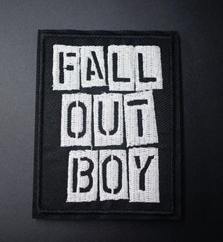 rock band patch iron on embroidered applique fabric patch badge DIY clothing punk emo rock free ship