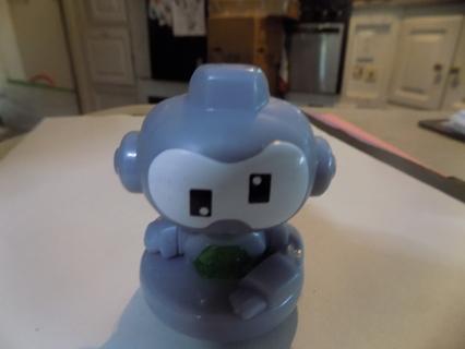 McDonalds toy Twirl Bot Rolly Polly toy green on bottom