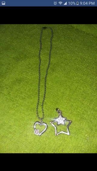 Little girls necklace + extra charm