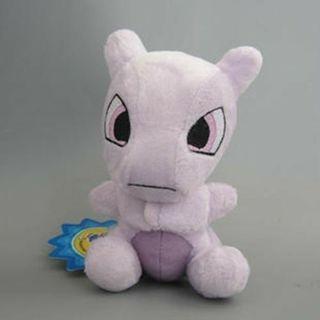 Pokemon 6'' Mewtwo Stuffed Soft Plush Doll Toy New Cute