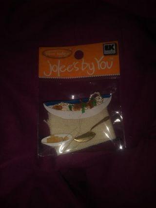 Pasta Dinner Scrapbook Sticker