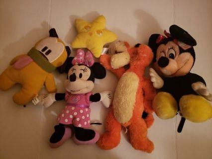 5 Disney plush lot #5