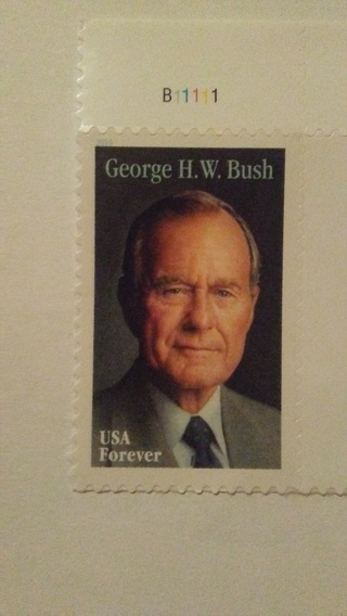 President Bush forever stamp-⬅⬅⬅brand new⬅⬅⬅⬅