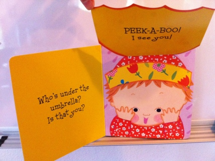 Brand New Peek a Baby Lift-Flap Board Book for baby / toddler girl / boy
