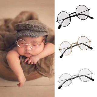 Newborn Infants bebe Photography Props Flat Glasses Baby Studio Shooting Photo Prop photosession