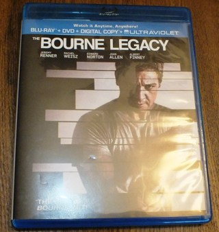 Used Bourne Legacy - Both DVD and Blu-Ray