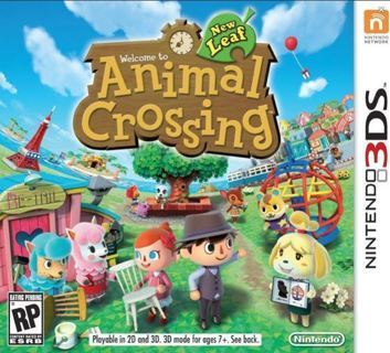 NINTENDO 3DS GAME Animal Crossing: New Leaf FREE SHIPPING