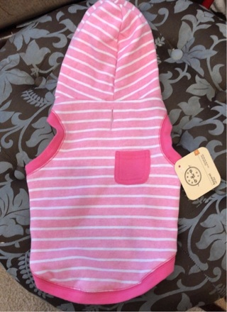 NWT Pink Dog Sweater Size Small