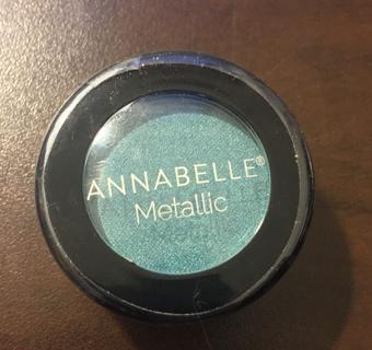 Annabelle Metallic Eyeshadow- Turquoise NEW SEALED
