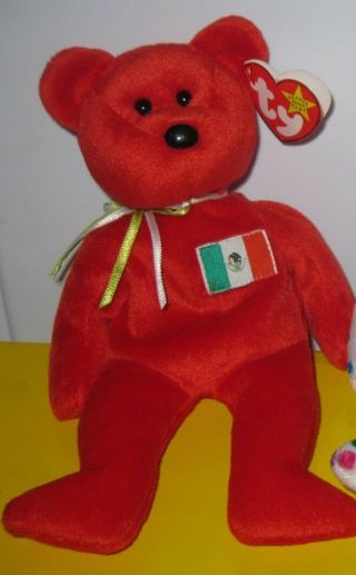 TY Beanie Baby - OSITO the Bear 1999