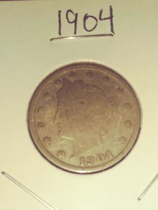 1904 Liberty V Nickel! 79
