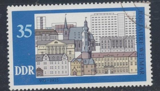 Germany: 1975, Historic Buildings, 000 Years of Weimar, Scott # DD-1688  - GER-1200b