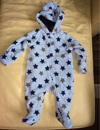 Infant Fleece Coat/Onesie Outdoor