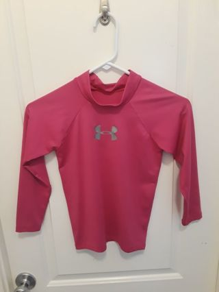Girl swimming long sleeve shirt (s)