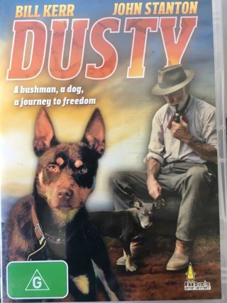 Free: DUSTY DVD John Richardson 1982 Aussie Bushman + Dog