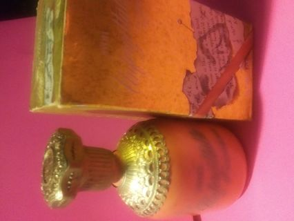 Vintage Avon Unforgettable Decorative Perfume Bottle with Box