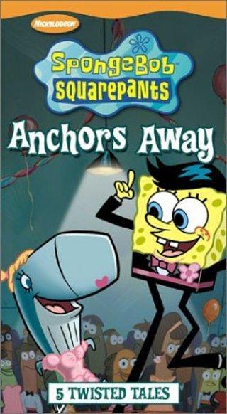 Anchors Away SpongeBob SquarePants VHS
