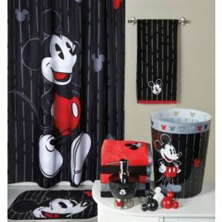 Brand New 22pc Mickey Tuxedo Bathroom Set Collection Beautiful Disney Design Free Shipping Awesome