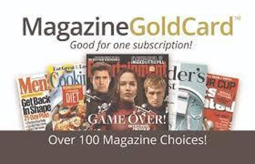 ⭐️ Magazine Gold Card Redemption Code - Which Title Will You Choose? / GIN less than $1.00 USD ⭐️