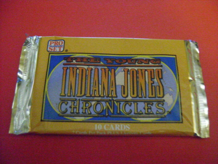The Young Indiana Jones Chronicles Sealed Trading cards