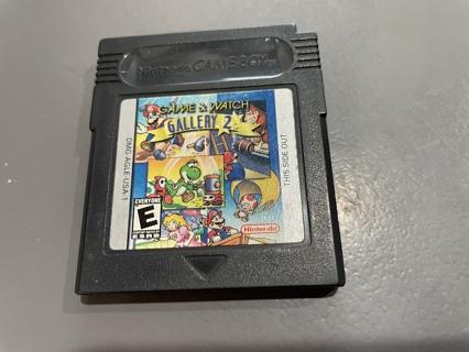 Vintage Nintendo Gameboy Game & Watch Gallery 2 Game