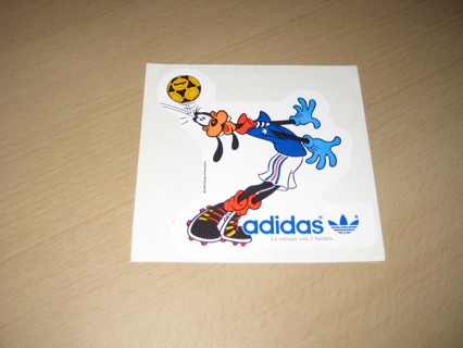 Free: Vintage 80's Disney Sport Goofy Adidas Sticker