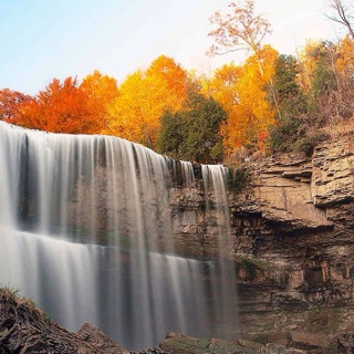 Free Fall Waterfall Scene Wallpaper Posters Listia Com