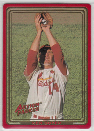 1993 Action Packed All-Star Gallery Series 2 - Ken Boyer card
