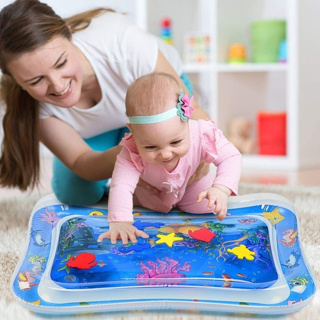 Inflatable Tummy Time Baby Mat