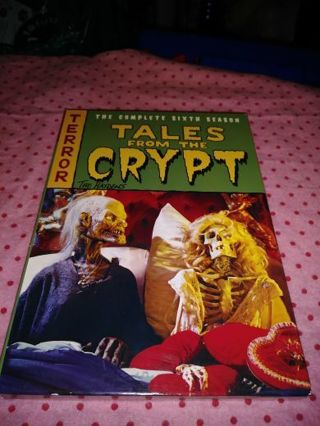 ⚛✨⚛✨⚛TALES FROM THE CRYPT COMPLETE 6TH SEASON DVD SET IN LIKE NEW CONDITION⚛✨⚛✨⚛PLEASE READ!