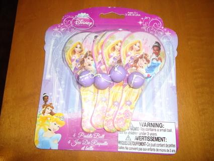 New Disney Princess Paddle Ball's