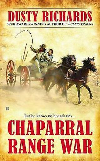 Chaparral Range War By Dusty Richards-Free Ship