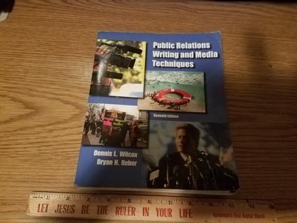 Public Relations Writing & Media Techniques 7th Ed