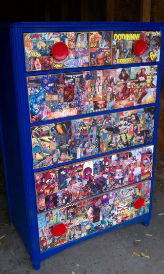 Free Diy Comic Book Dresser Upcycle Furniture Listia