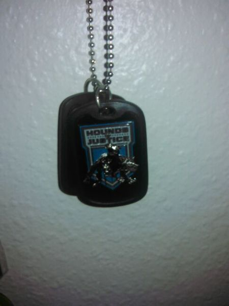Free Wwe Shield Dog Tags Other Sporting Goods Listia