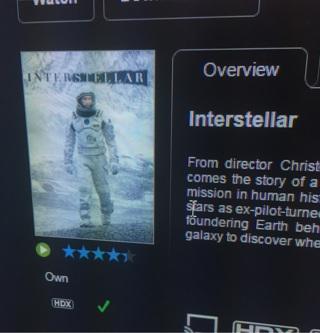 Free: iTunes interstellar iTunes digital movie code USA