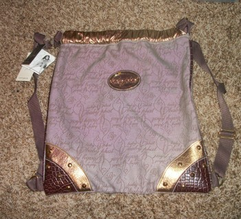 New Baby Phat Backpack Purse