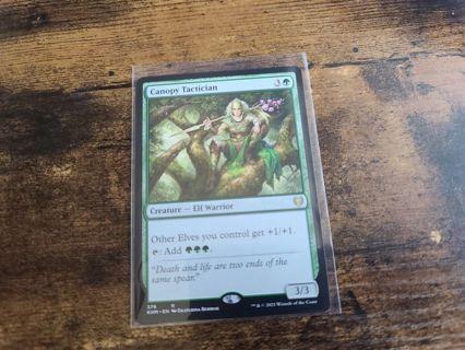 Magic the gathering mtg Canopy Tactician rare card