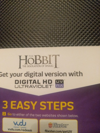 The Hobbit digital copy
