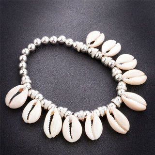 2020 Natural Barefoot Foot Jewelry Beads Shell Anklet x1