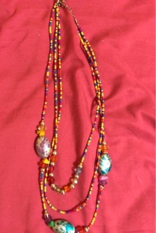 Milti-colored necklace