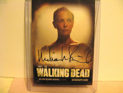 Walking Dead Season 2 Melissa McBride / Carol A6 Autograph Card