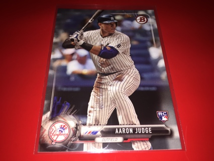 2017 Bowman Aaron Judge Rookie Rc New York Yankees @@