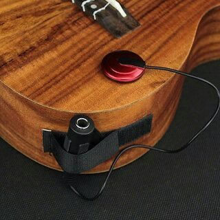 [GIN FOR FREE SHIPPING] Acoustic Piezo Contact Microphone Pickup For Guitar Violin Mandolin Ukulele