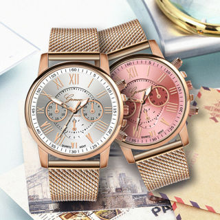 Women Ladies Watch Stainless Steel Analog Quartz Dress Bracelet Wrist Watch Gift